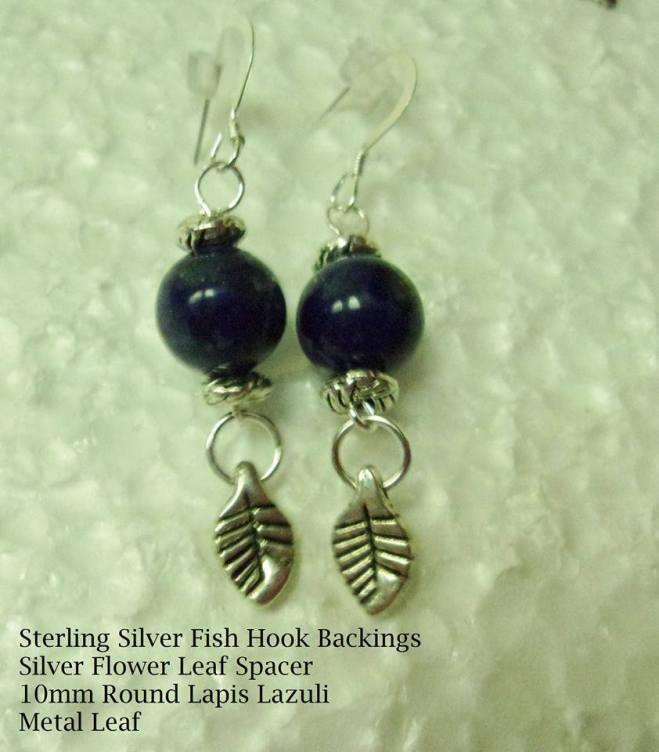 Sterling Silver Fish Hook Earrings
